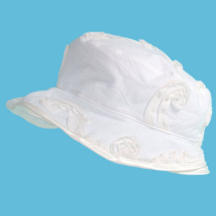 Baby-Staab Summer hat, off-white 2012 - large image