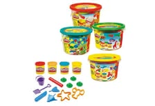 Play-Doh fun-bucket -  * The Play-Doh fun bucket encourages creativity and thanks to the many accessories there are no limits set to the fantasy