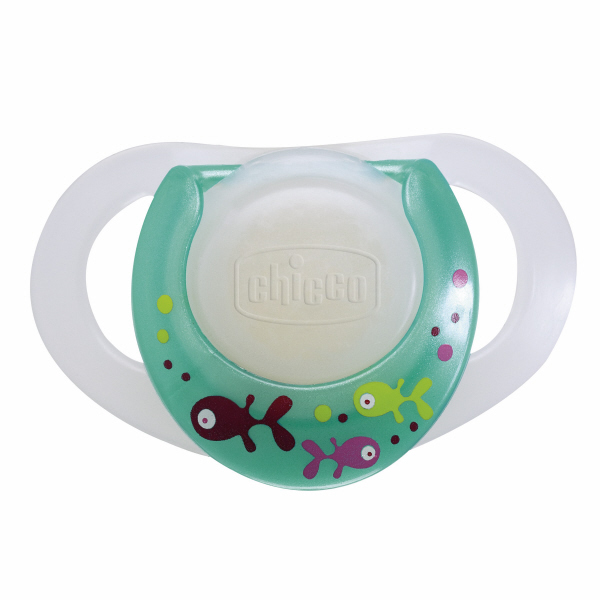 Chicco Physio Soother With Ring Lumi Latex 1 Pcs Buy