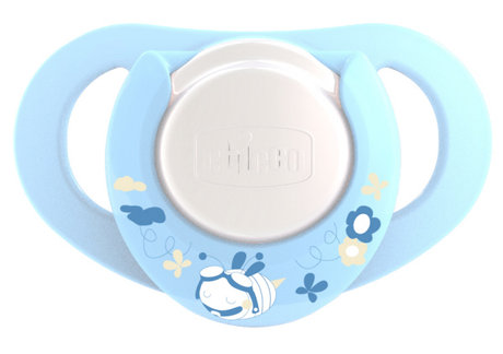 Chicco Physio Soother with Ring, Boy, Latex 2 PCS 2012 - large image