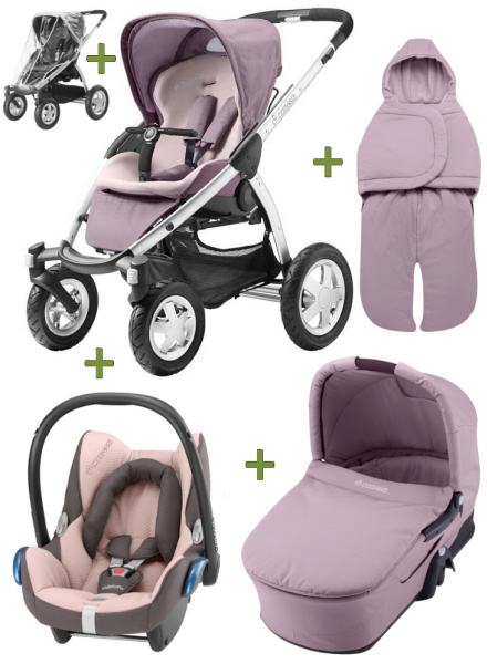 Maxi Cosi Mura 4 2011 Comfort Set Plus Cabriofix Buy At