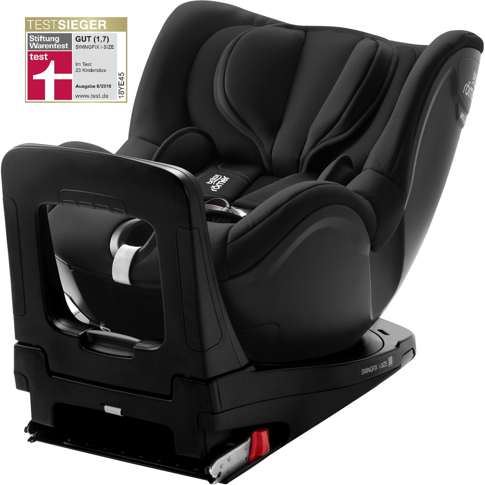 britax r mer kindersitz swingfix i size buy at kidsroom. Black Bedroom Furniture Sets. Home Design Ideas