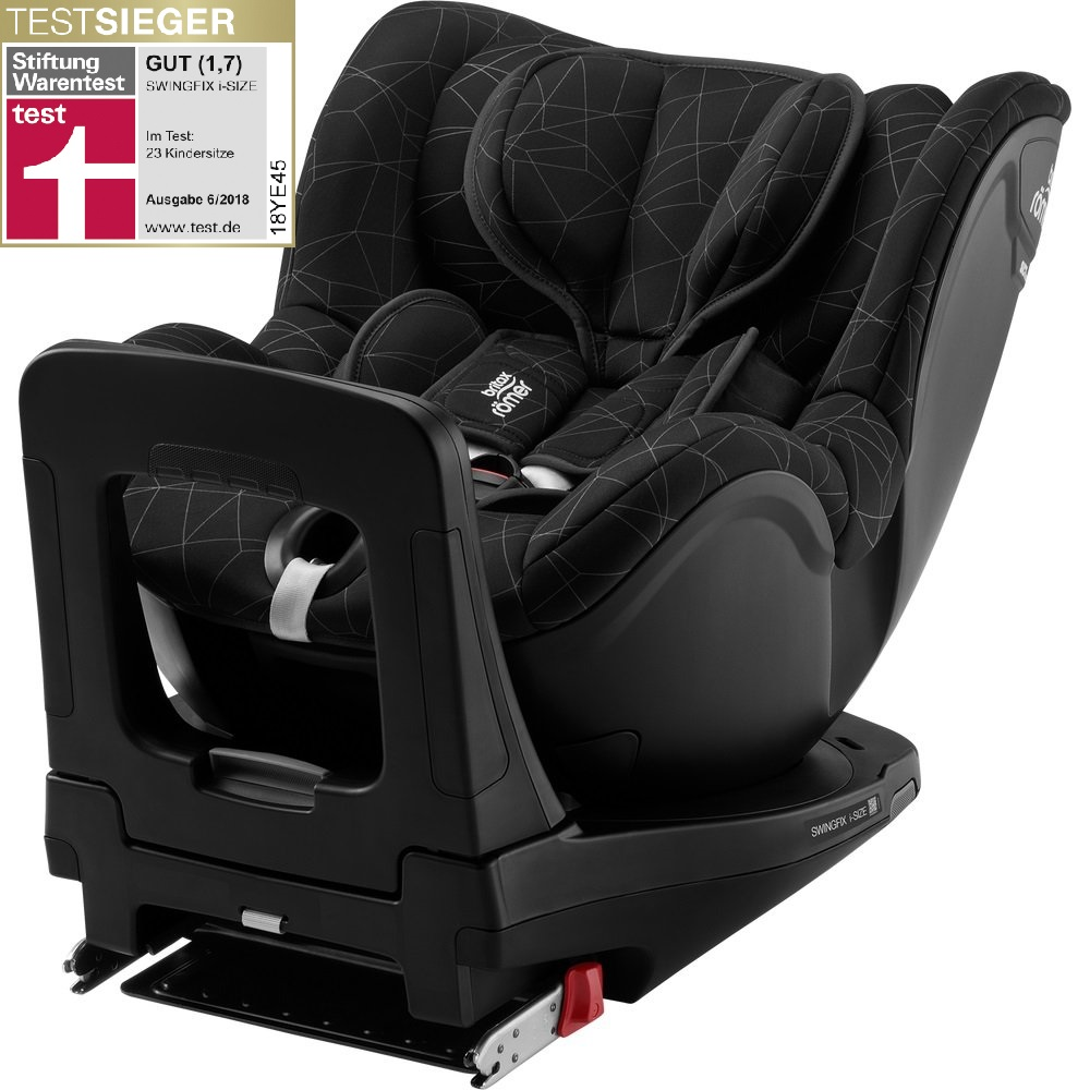britax r mer child car seat swingfix i size 2019 crystal black buy at kidsroom car seats. Black Bedroom Furniture Sets. Home Design Ideas