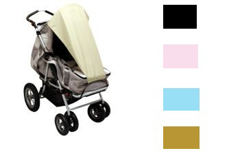 ASMi Sun canopy with UV protection for strollers 2012 - large image