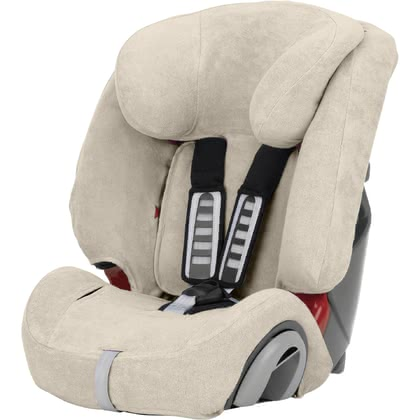 Britax Römer Summer Cover for Evolva 1-2-3 & Evolva 1-2-3 Plus - * The Britax Römer summer cover is highly absorbent and suitable for the child car seat Evolva 1-2-3 & Evolva 1-2-3 Plus