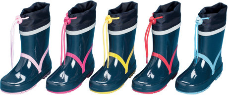 Playshoes wellies, basic - large image