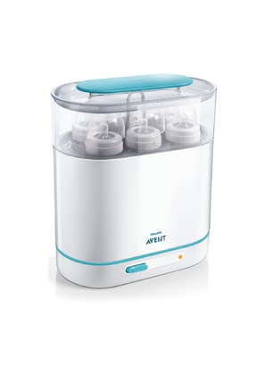 AVENT 3 in 1 Steam Steriliser -  * The steam sterilization of Avent is the most effective method to protect your loved one from harmful bacteria.