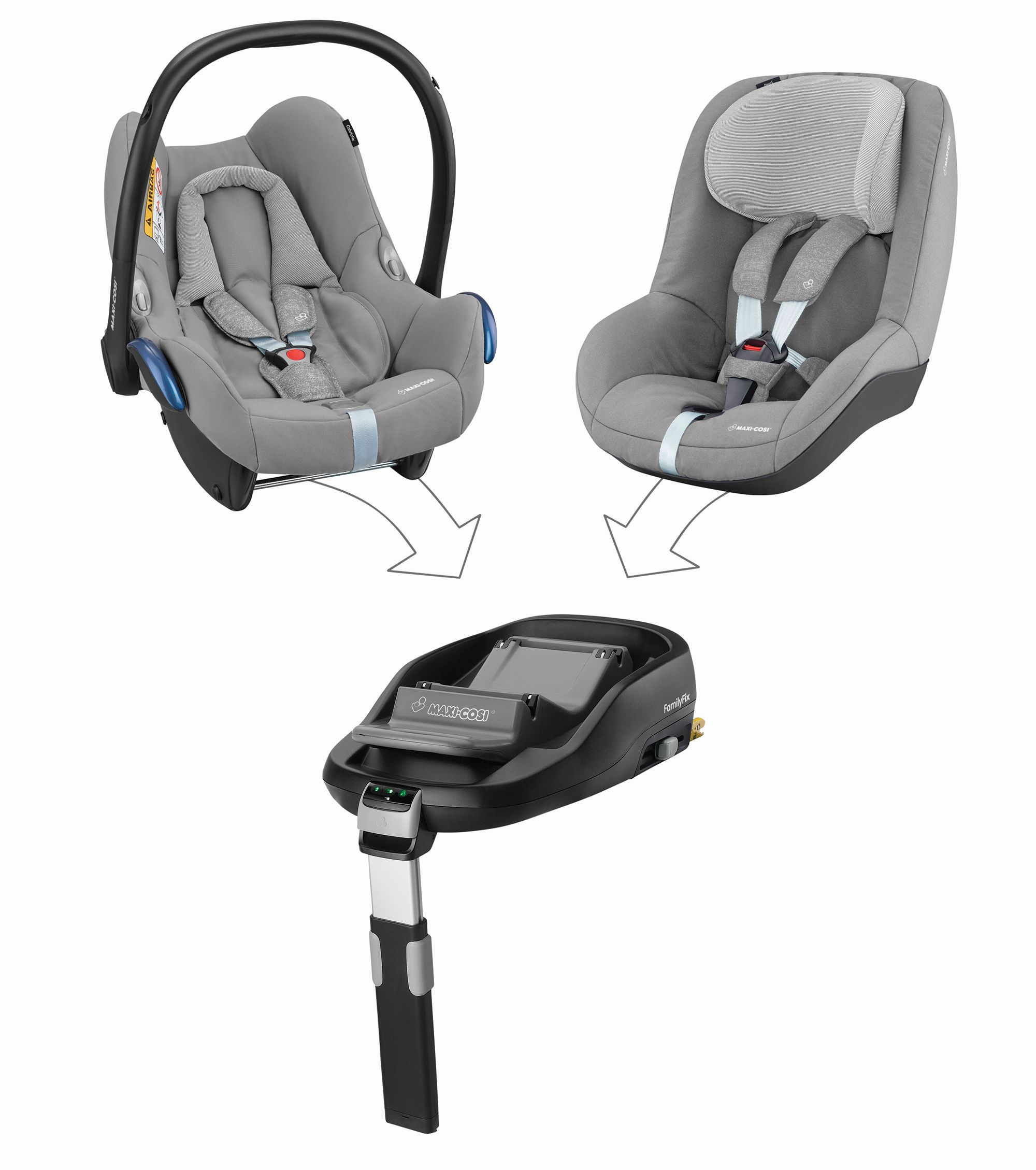 maxi cosi infant carrier cabriofix 2018 nomad grey buy. Black Bedroom Furniture Sets. Home Design Ideas