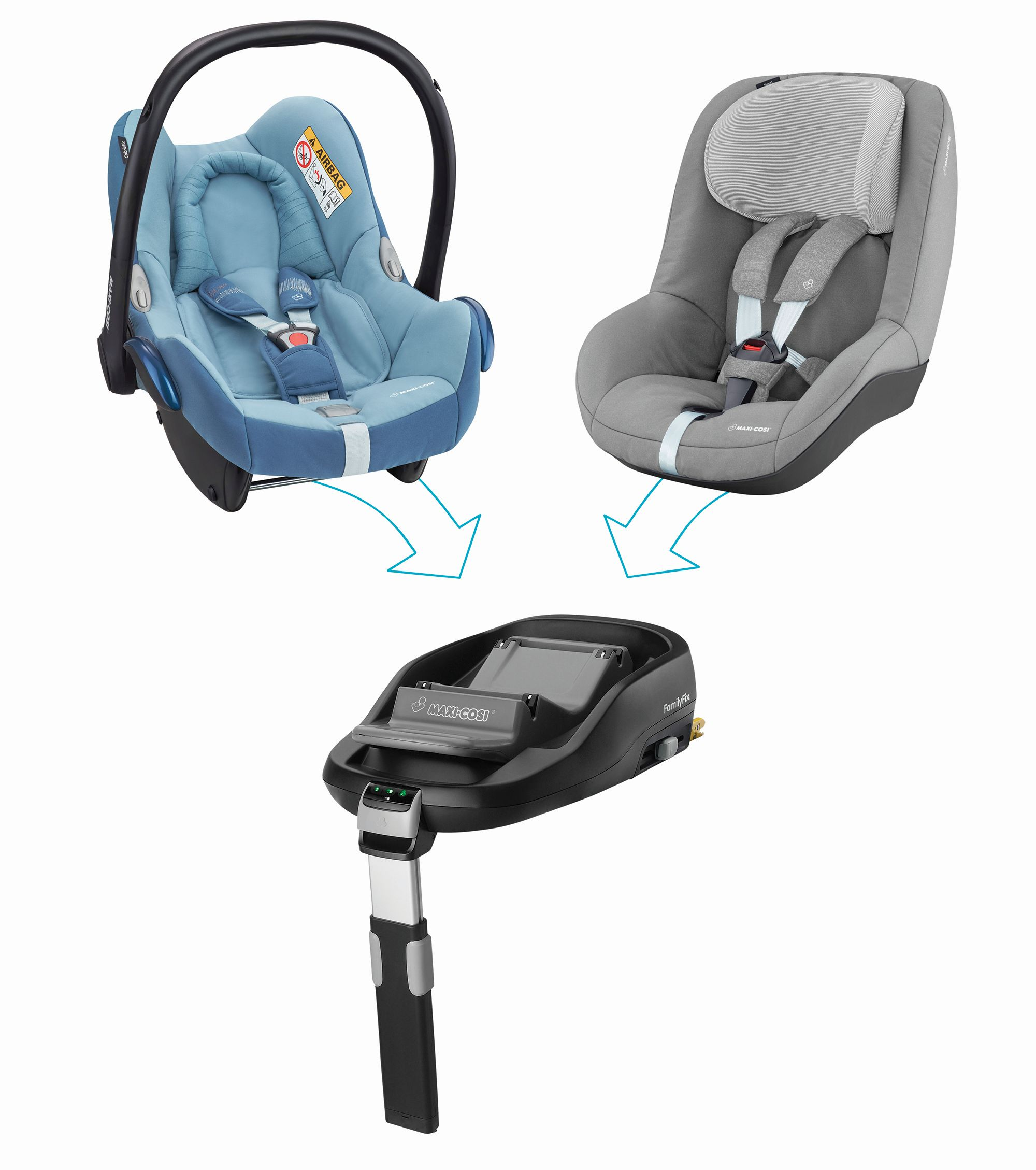 maxi cosi infant car seat cabriofix 2018 frequency blue buy at kidsroom car seats. Black Bedroom Furniture Sets. Home Design Ideas