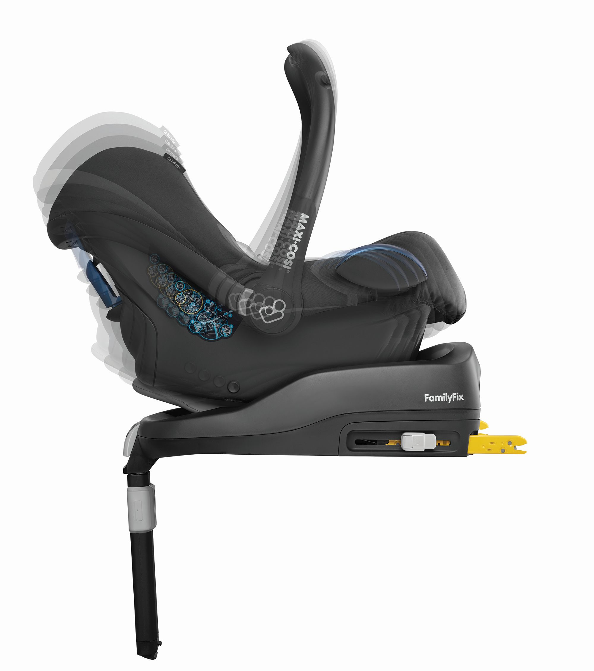 maxi cosi infant car seat cabriofix buy at kidsroom. Black Bedroom Furniture Sets. Home Design Ideas