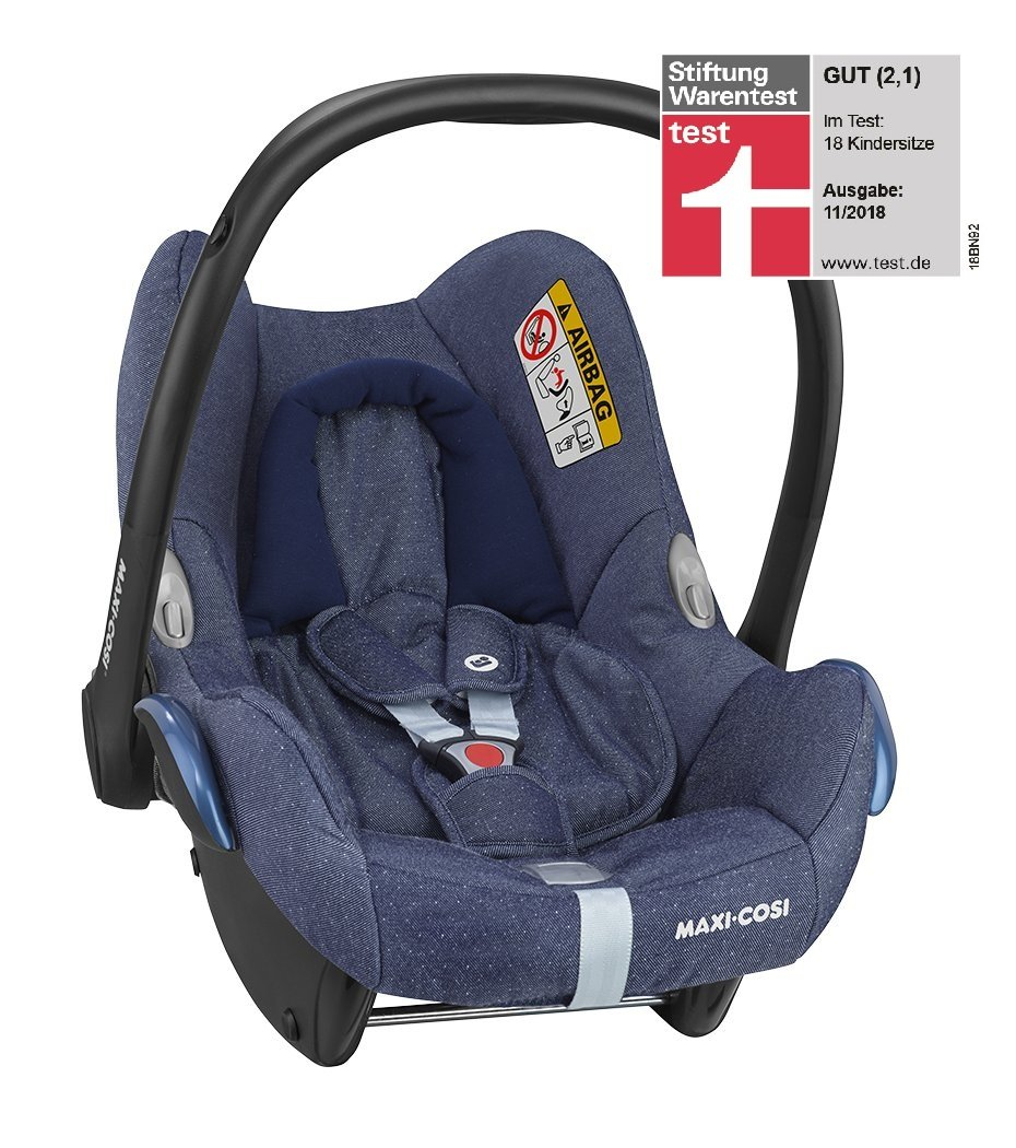 maxi cosi infant car seat cabriofix 2019 sparkling blue. Black Bedroom Furniture Sets. Home Design Ideas