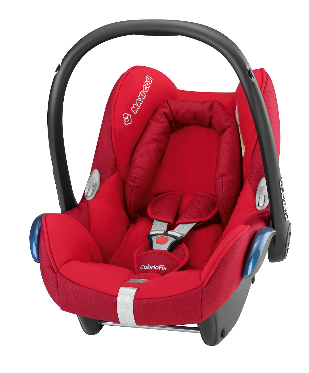 maxi cosi infant car seat cabriofix 2013 intense red buy at kidsroom car seats. Black Bedroom Furniture Sets. Home Design Ideas