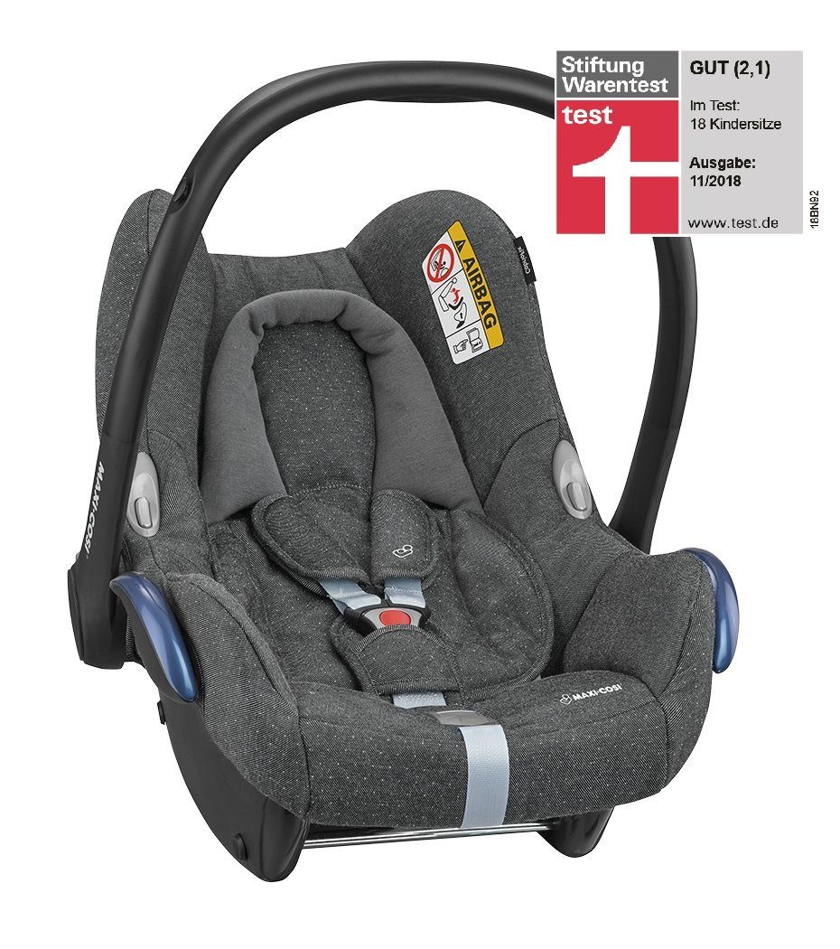 maxi cosi infant car seat cabriofix 2018 sparkling grey buy at kidsroom car seats. Black Bedroom Furniture Sets. Home Design Ideas