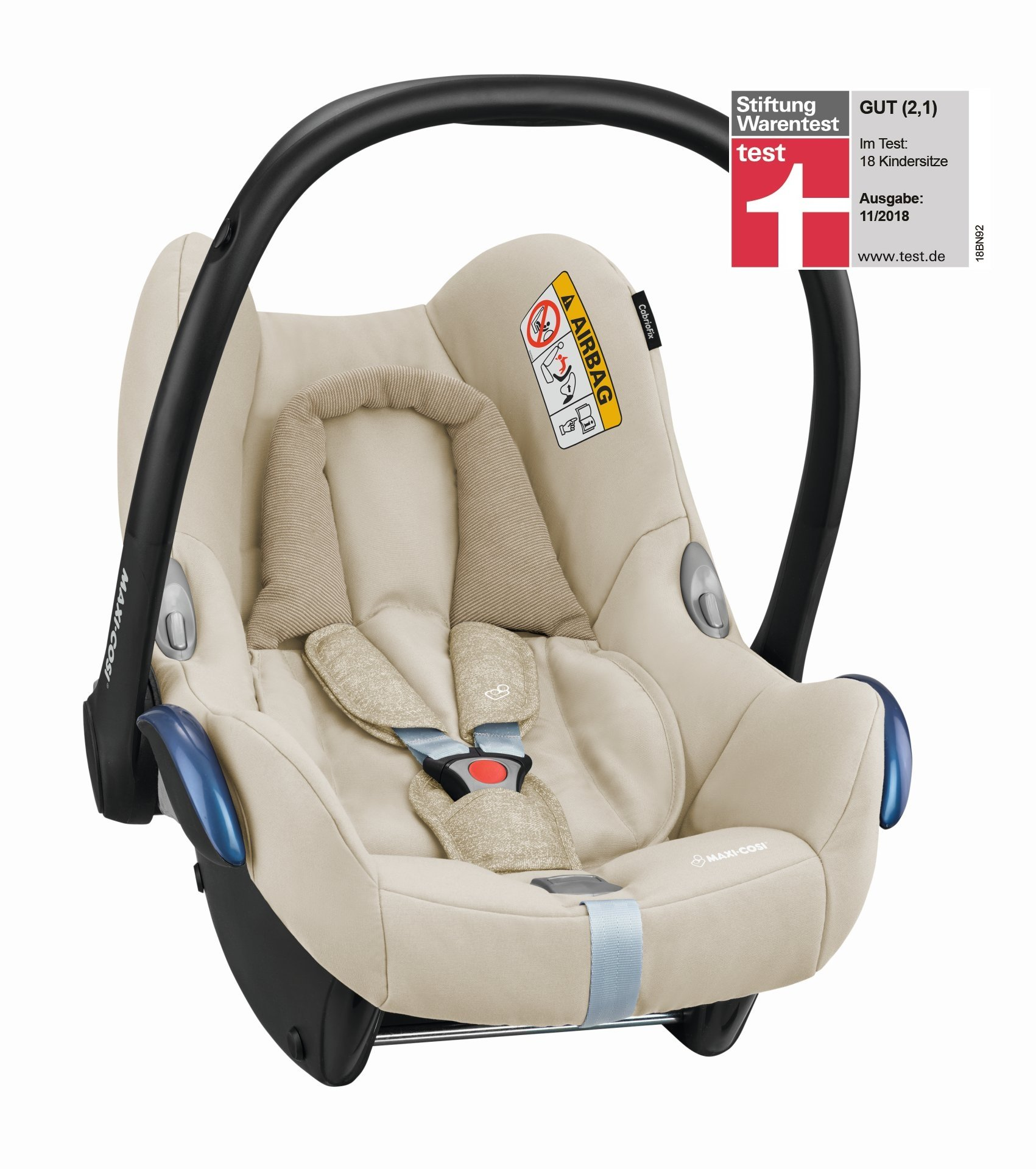 maxi cosi infant car seat cabriofix 2019 nomad sand buy. Black Bedroom Furniture Sets. Home Design Ideas