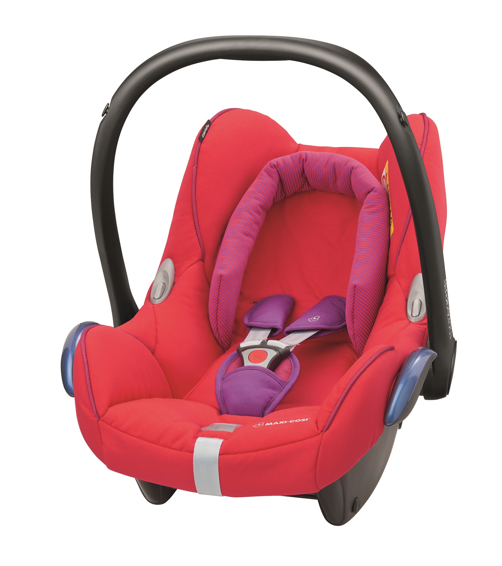 maxi cosi infant carrier cabriofix 2017 red orchid buy at kidsroom car seats. Black Bedroom Furniture Sets. Home Design Ideas