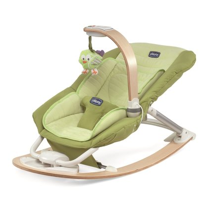 Chicco I-feel Bouncing Chair Lime 2014 - large image