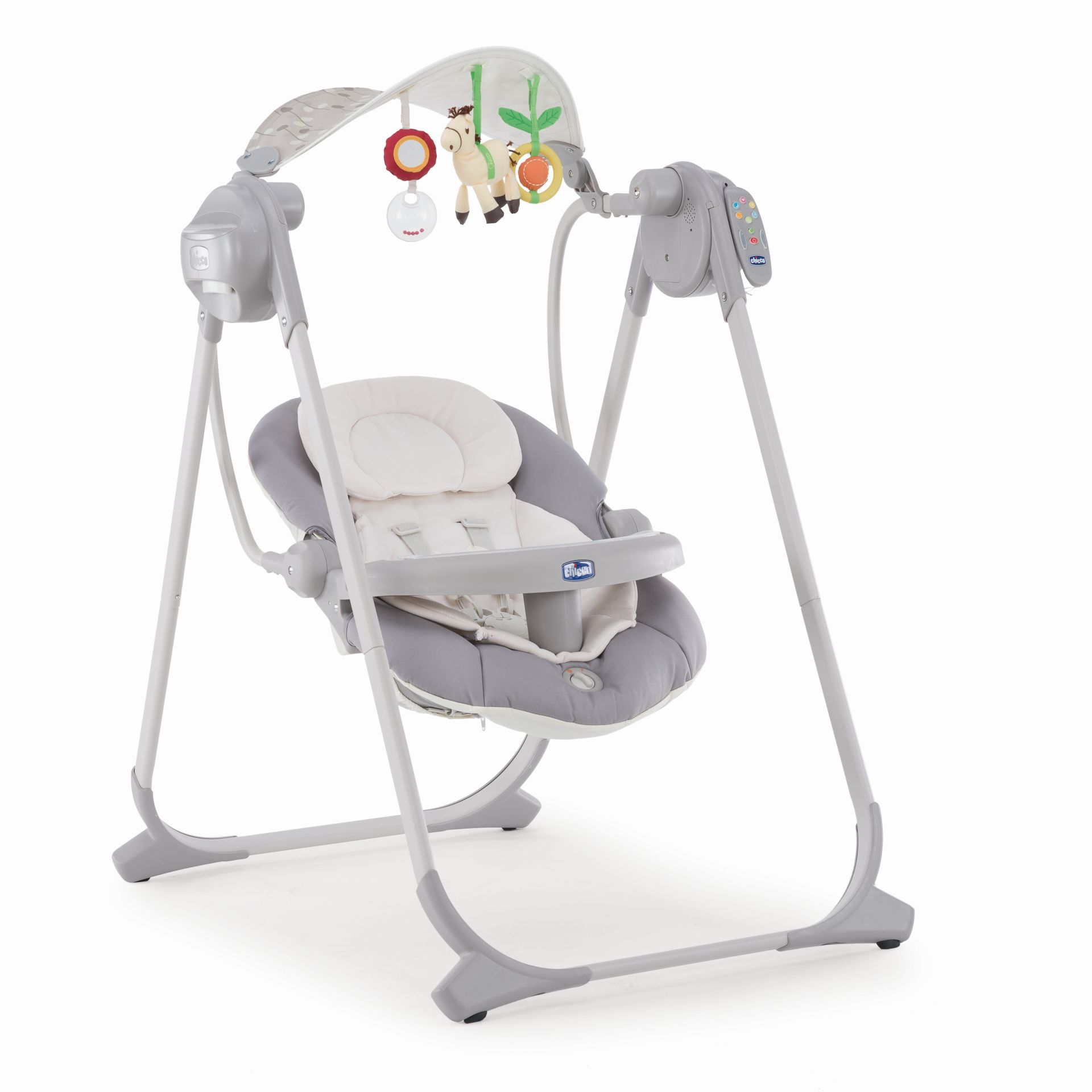 Chicco Baby Swing Polly Swing Up 2020 Silver Buy At Kidsroom