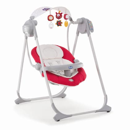 Chicco Baby Swing Polly Swing UP Paprika 2019 - large image