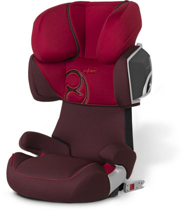 Cybex Car Seat Solution X2-Fix - Comfort look 2012 Chilli Pepper-red - large image