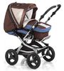 Knorr pushchair Alu Fly Swing 2012 977-cacao-azur - large image 2