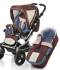 Knorr pushchair Alu Fly Swing 2012 977-cacao-azur - large image 3