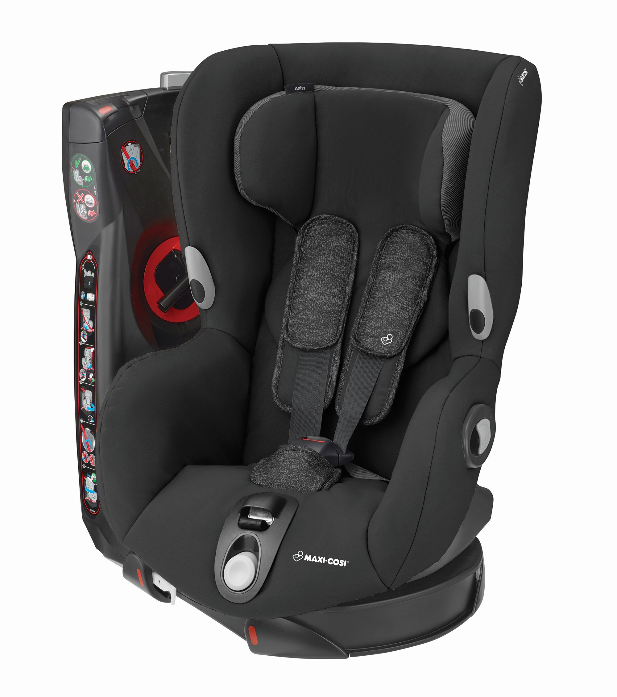 maxi cosi child car seat axiss 2019 nomad black buy at kidsroom car seats. Black Bedroom Furniture Sets. Home Design Ideas
