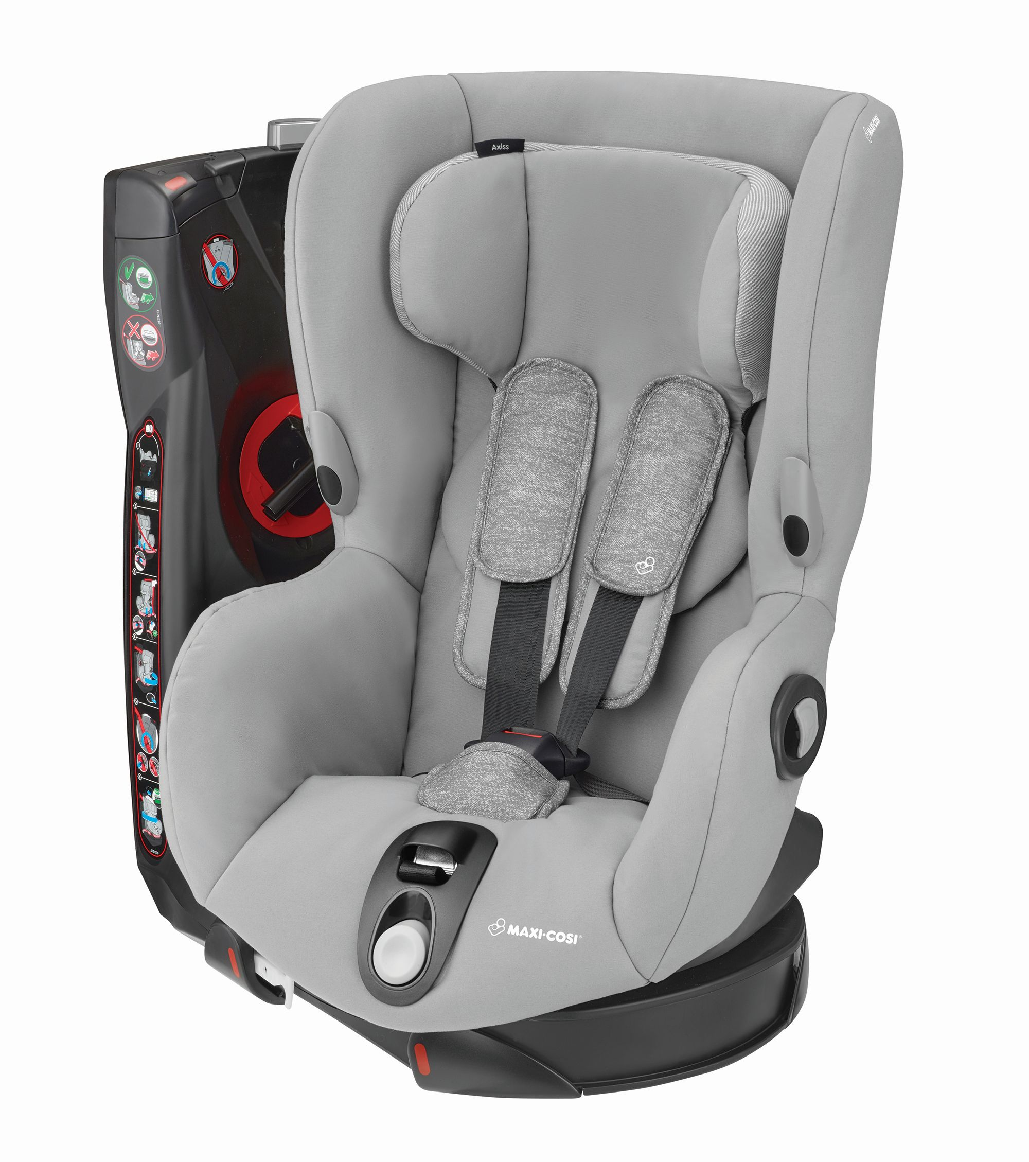 Britax Axiss Car Seat Grey