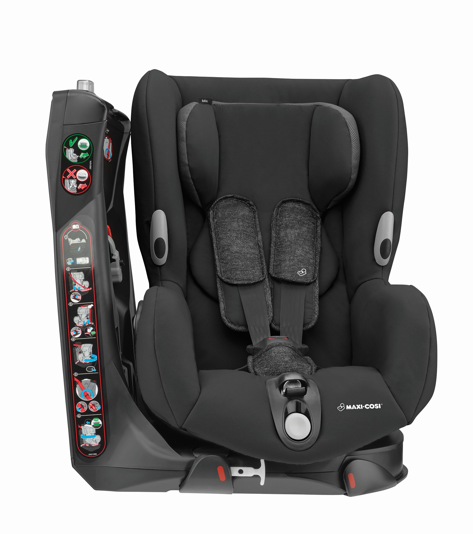 maxi cosi child car seat axiss 2018 nomad black buy at kidsroom car seats. Black Bedroom Furniture Sets. Home Design Ideas