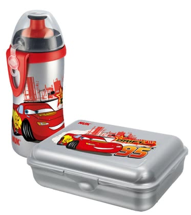 NUK  Lunch Box & Cup Set Disney  Cars, BPA-free - large image