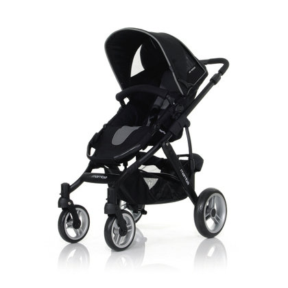 ABC Design Mamba incl. sport seat and hard carrycot 2012 anthracite-black - large image
