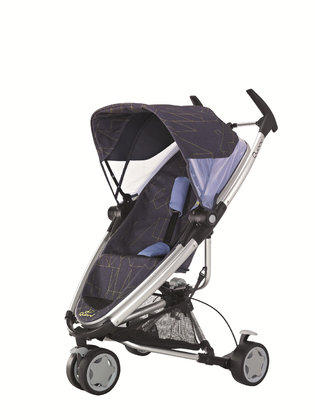 Quinny Buggy Zapp Xtra 2012 Graphic Purple - large image