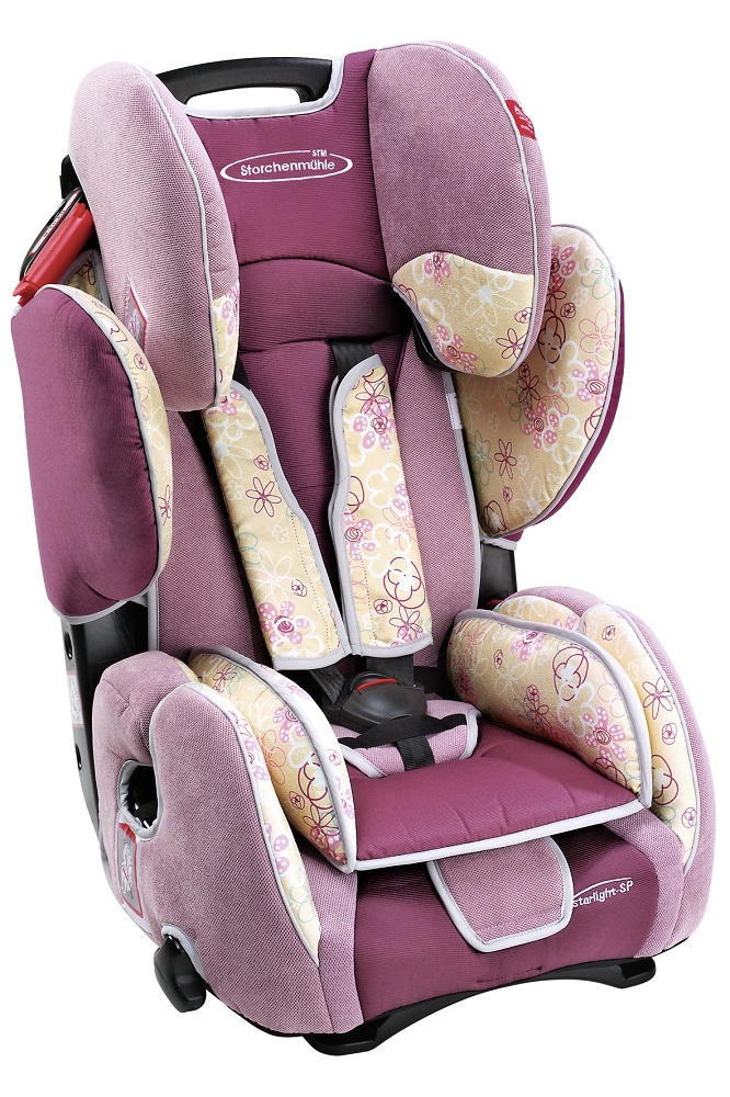 Stm storchenmhle starlight sp child car seat pink flower buy at stm storchenmhle starlight sp child car seat design pink flower mightylinksfo
