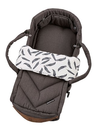 Gesslein Carrycot C1-Lift - * The Gesslein Soft-carrying bag C1-Lift offers your darling optimum lying comfort and is thanks to the protective belt securely fastened to the sport