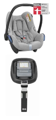 Maxi-Cosi Cabriofix incl. Family Fix base - The classic baby car seat is functional and secure.