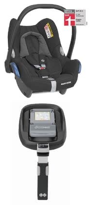 Maxi-Cosi Cabriofix incl. Family Fix base Essential Black 2020 - large image