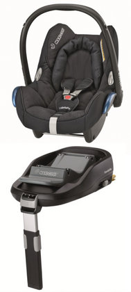 Maxi-Cosi Cabriofix incl. Family Fix base Total black 2012 - large image