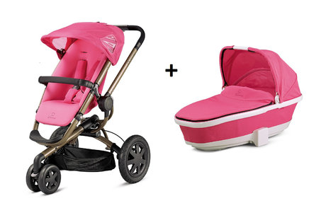 Quinny BUZZ 3 stroller + Dreami Pink Precious 2013 - large image