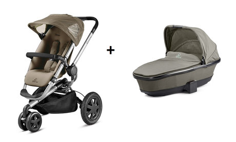 Quinny BUZZ 3 stroller + Dreami Brown Fierce 2014 - large image