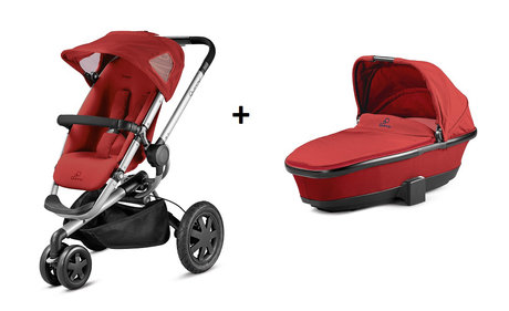 Quinny BUZZ 3 stroller + Dreami Red Rumour 2014 - large image