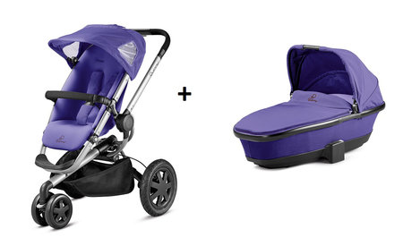 Quinny BUZZ 3 stroller + Dreami Purple Pace 2014 - large image