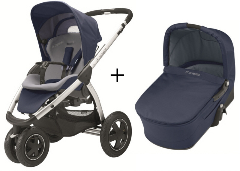 maxi cosi mura 3 2012 incl carrycot 2012 dress blue buy at kidsroom. Black Bedroom Furniture Sets. Home Design Ideas
