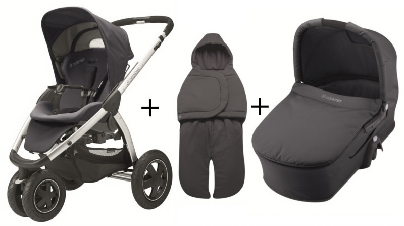 maxi cosi mura 3 2012 comfort set carrycot footmuff buy at kidsroom. Black Bedroom Furniture Sets. Home Design Ideas