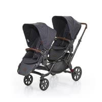 ABC Design Zoom incl. 2 pushchair attachments - The siblings pram ABC design zoom offers your children perfect comfort.