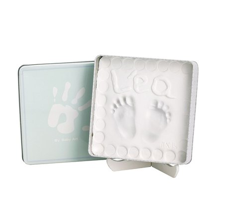 Baby Art Magic Box - * With Baby Art Magic Box you will cherish the souvenir of your baby´s little hands or feet for ever