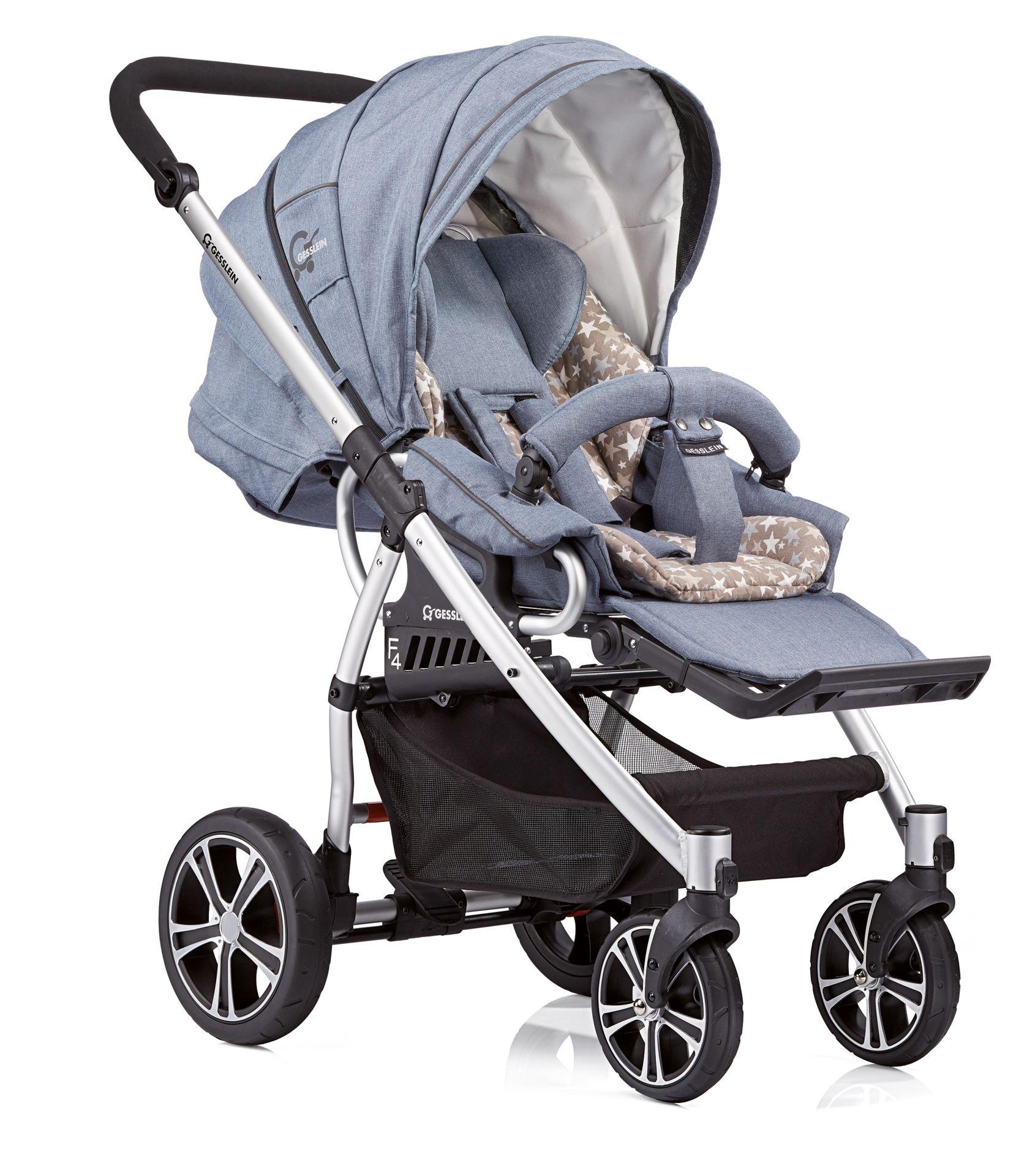 gesslein stroller f4 air 2017 763763 buy at kidsroom strollers. Black Bedroom Furniture Sets. Home Design Ideas