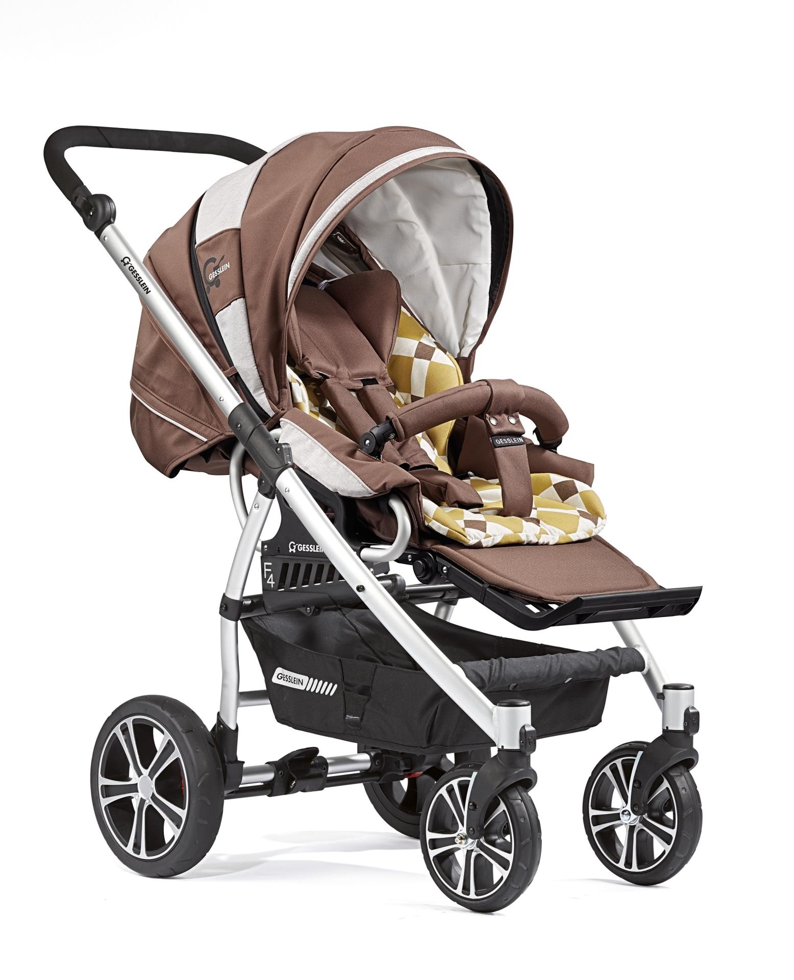 gesslein stroller f4 air 2016 654654 buy at kidsroom strollers. Black Bedroom Furniture Sets. Home Design Ideas