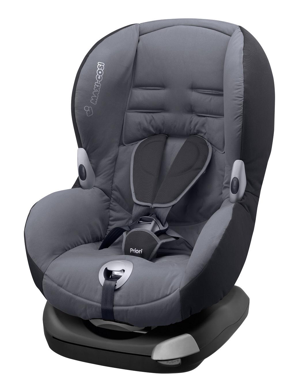 maxi cosi child car seat priori xp 2015 solid grey buy at kidsroom car seats. Black Bedroom Furniture Sets. Home Design Ideas