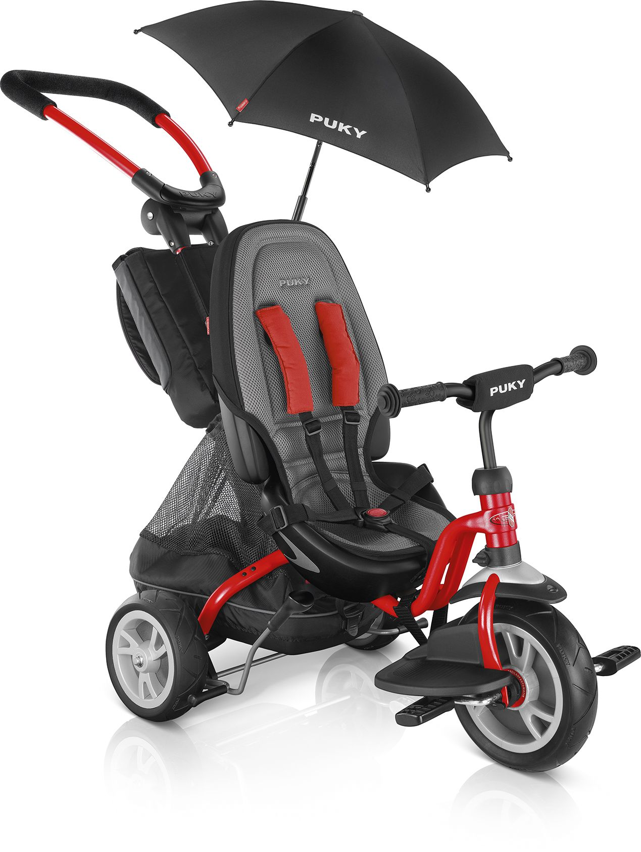 6e18d3d08d7 PUKY Tricycle CAT S6 Ceety 2018 Rot-Premium - Buy at kidsroom | Toys