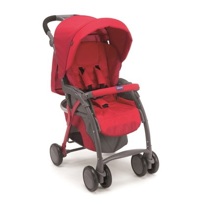 Chicco Simplicity Plus Top pushchair Red 2015 - large image