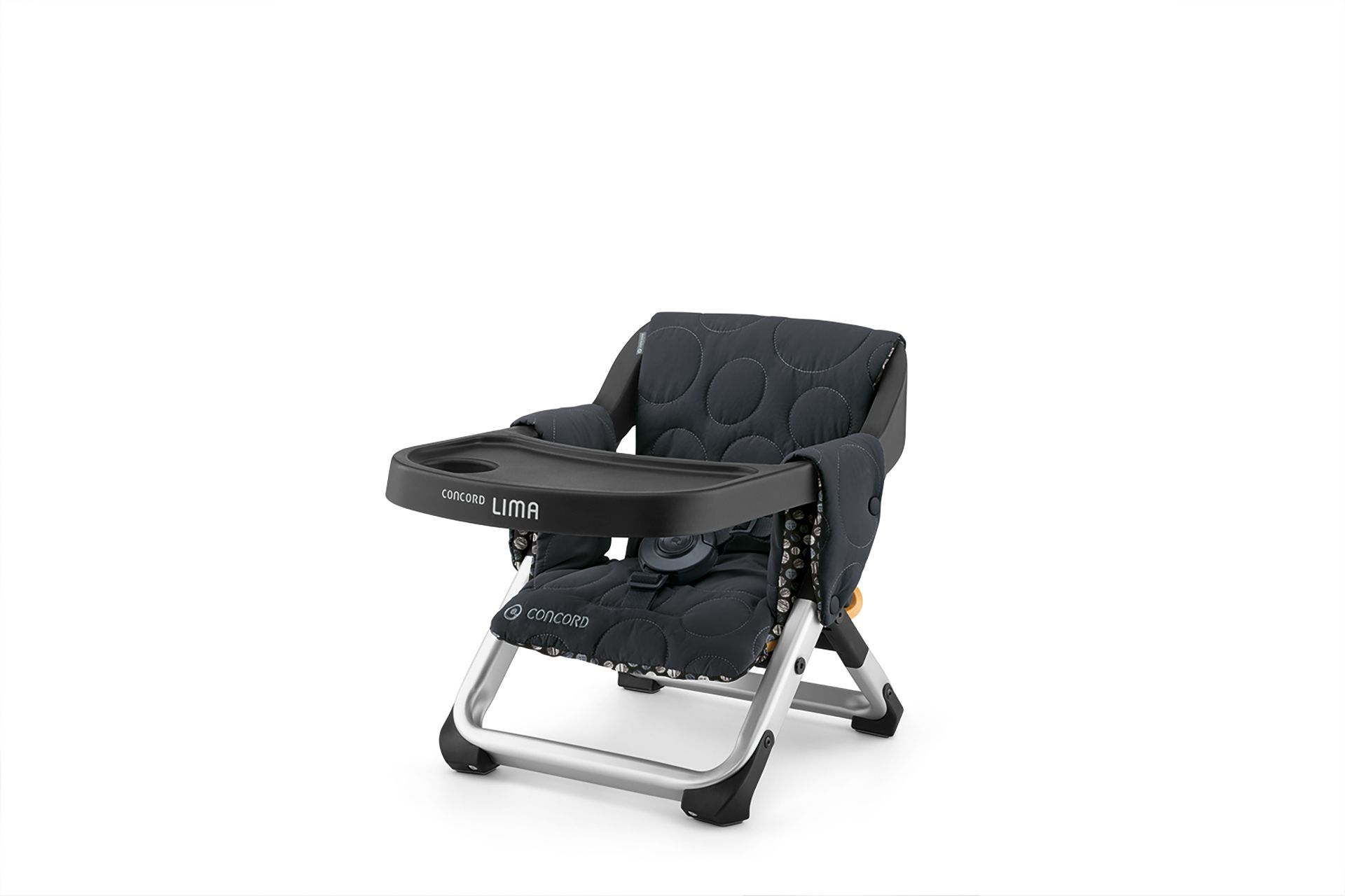 Concord travel highchair lima buy at kidsroom living for Chaise sejour noir